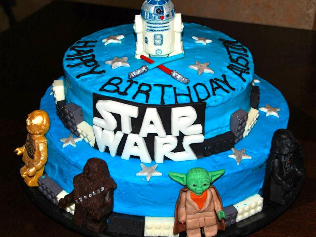 Lego Star Wars Cake   www.imgkid.com - The Image Kid Has It!