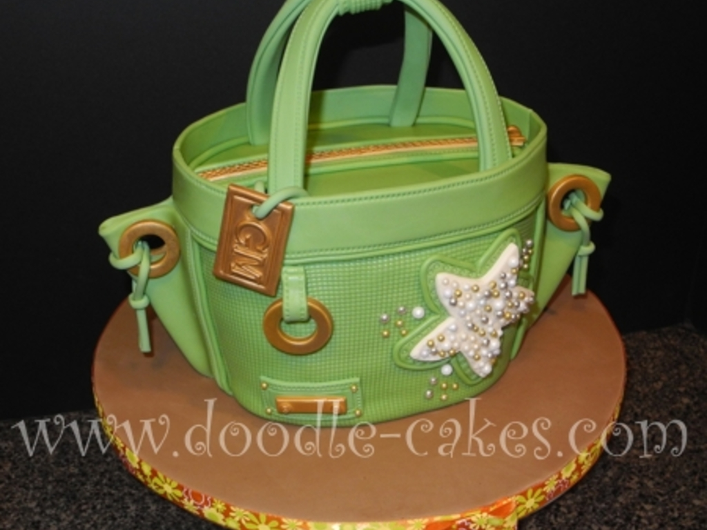 Stylin' Beach Bag Cake - CakeCentral.com