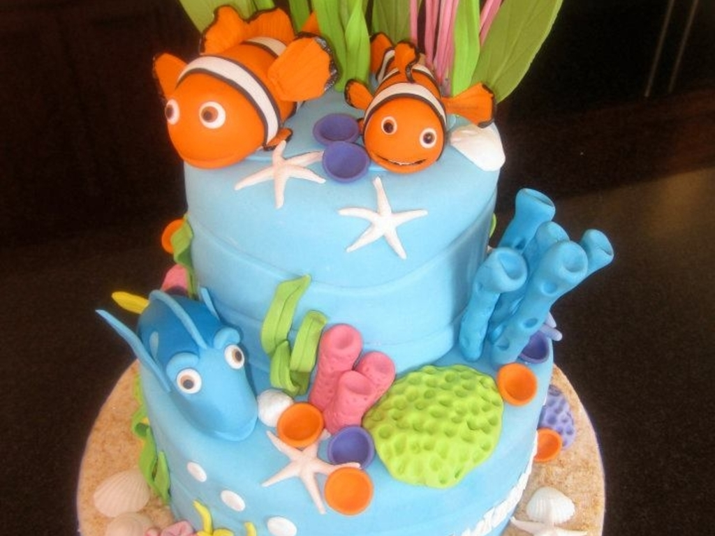 Finding Nemo Baby Shower Cake Cakecentral