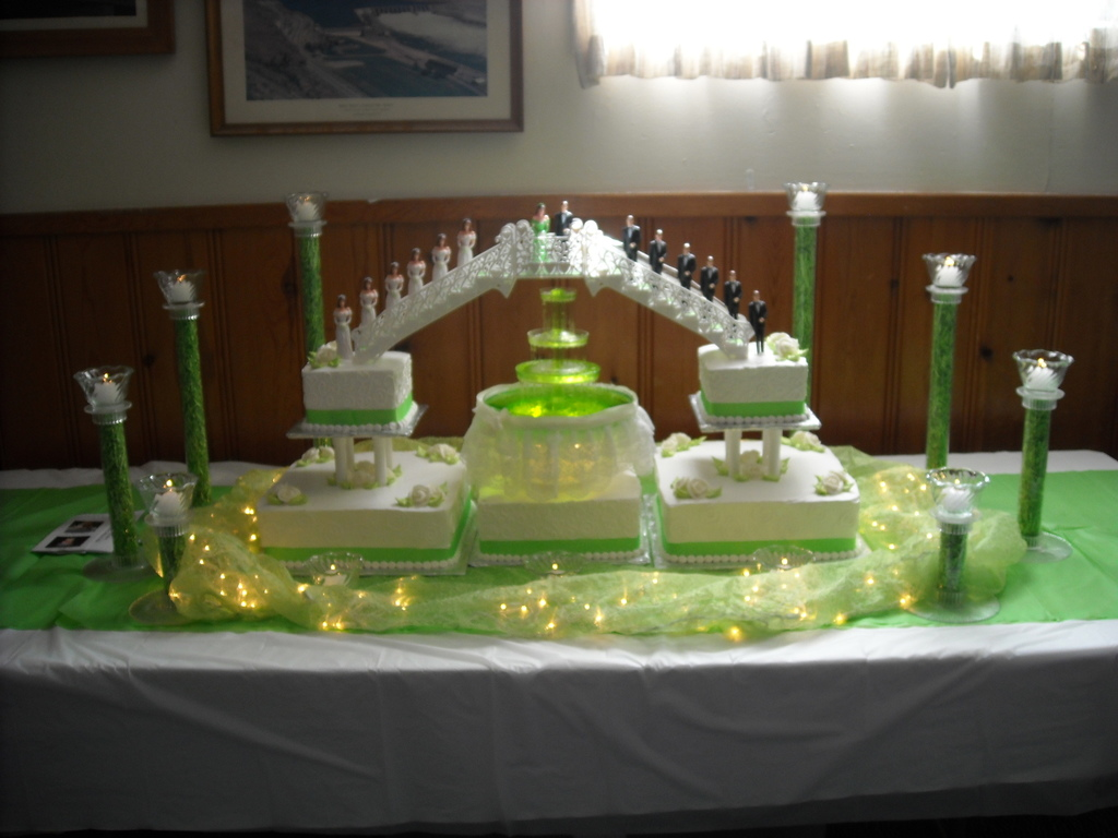 Quinceanera Bridges And Fountain Cakecentral Com