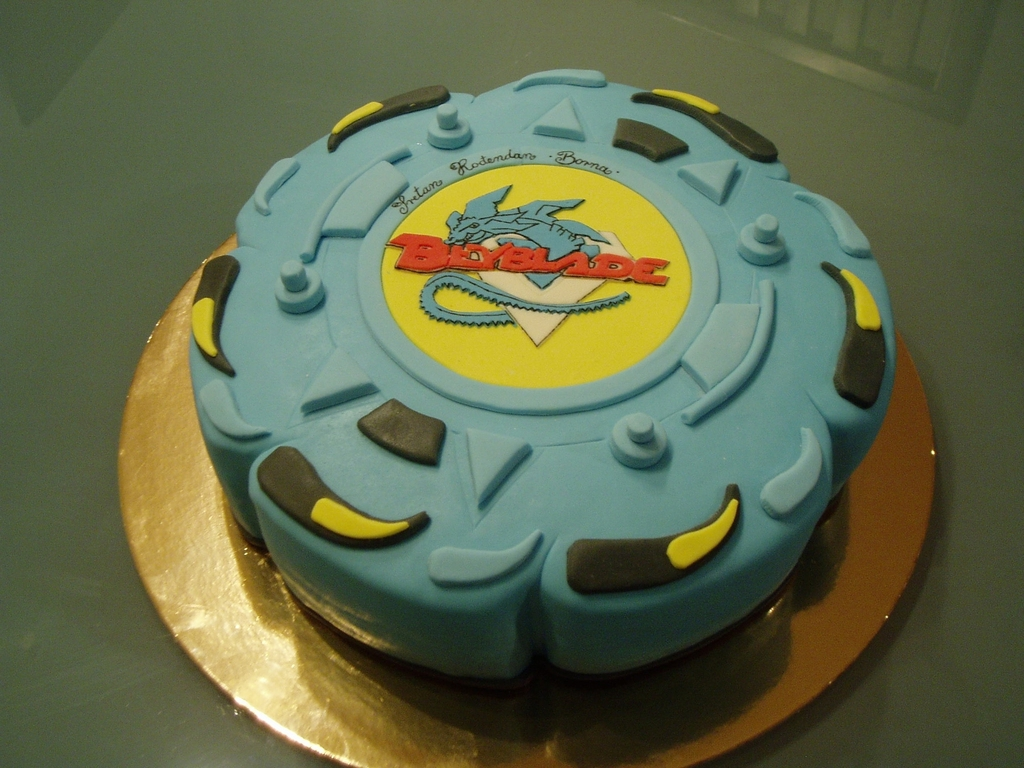 Beyblade Cake Cakecentral
