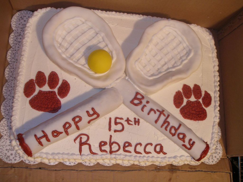 Peachy Field Hockey Birthday Cake Cakecentral Com Personalised Birthday Cards Petedlily Jamesorg