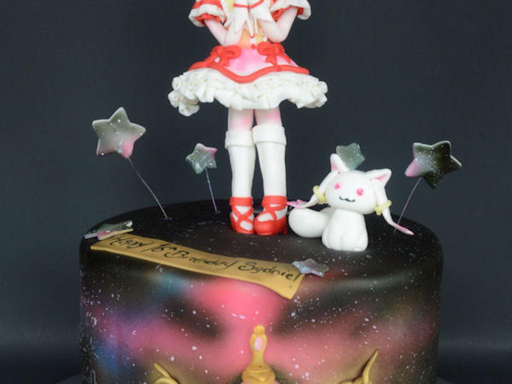 Puella Magi Madoka Magica Anime Birthday Cake Cakecentral