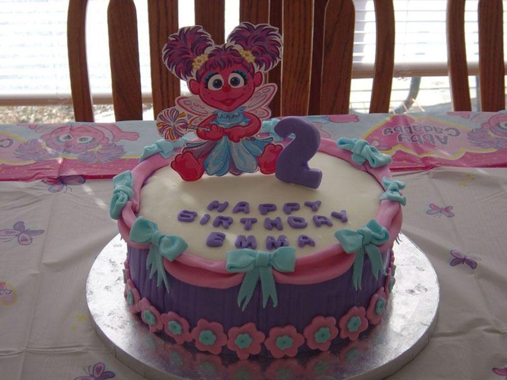 Marvelous Abby Cadabby Birthday Cake Cakecentral Com Personalised Birthday Cards Veneteletsinfo
