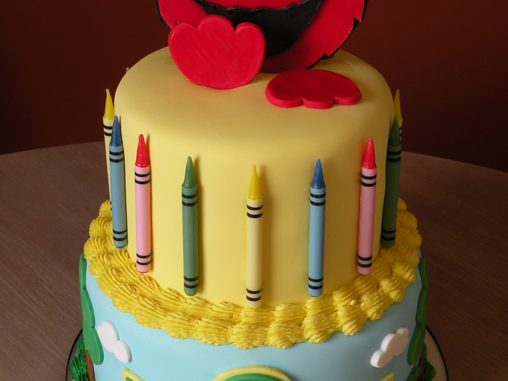 Elmo 1St Birthday Cake