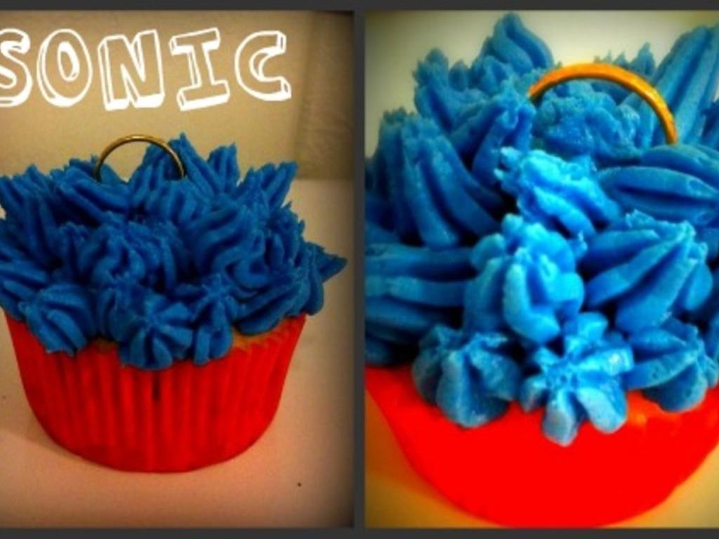 Sonic The Hedgehog Cupcakes Cakecentral Com