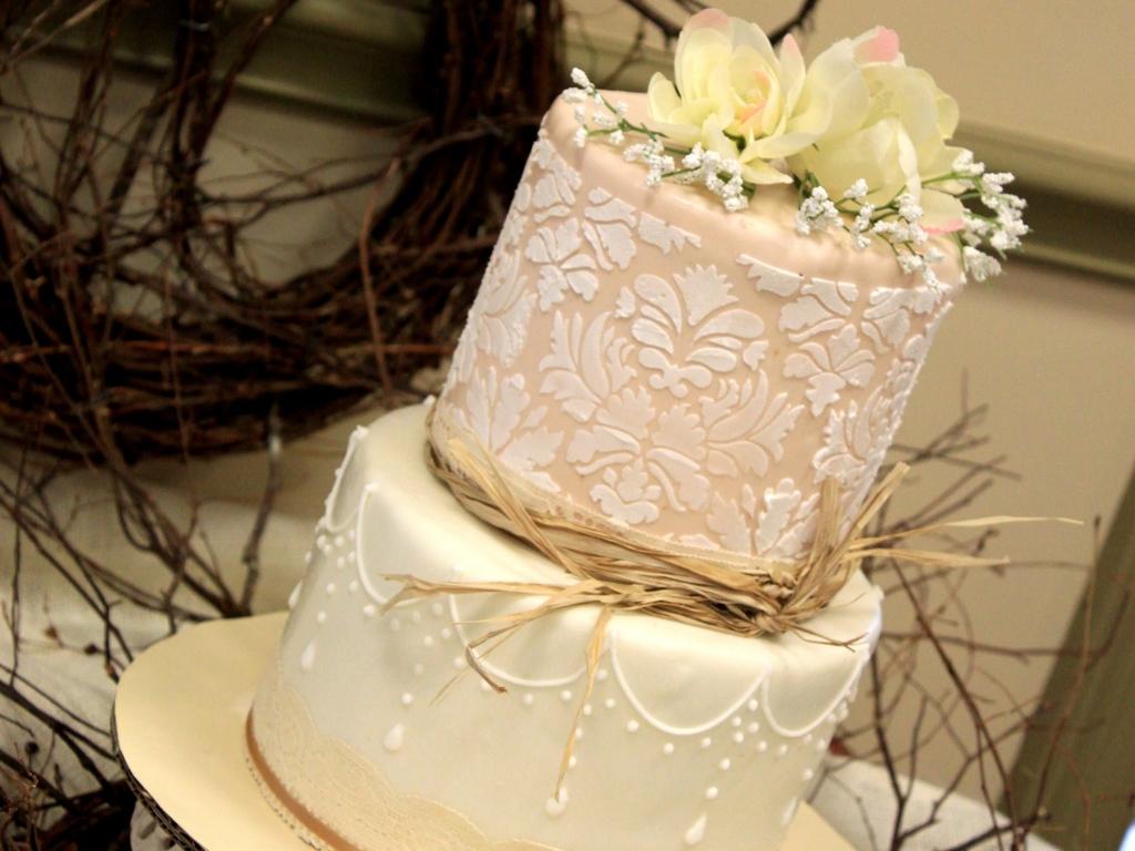 vintage bridal shower cake cakecentralcom