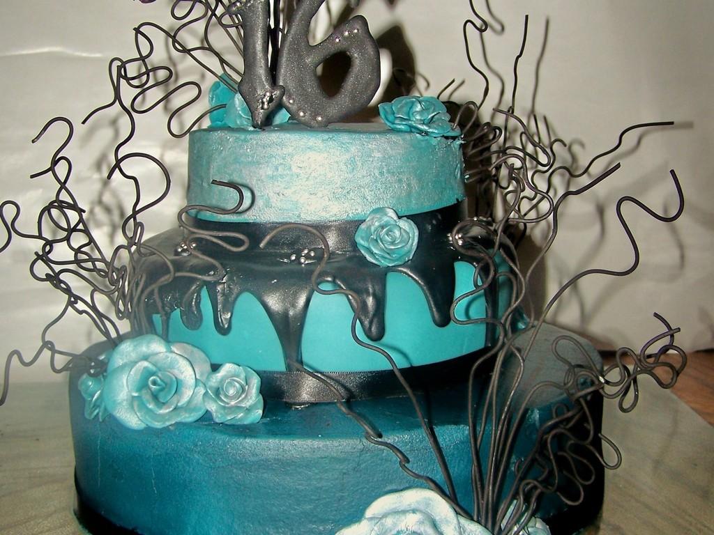 Pleasant Gothic Elegance Birthday Cake Cakecentral Com Birthday Cards Printable Inklcafe Filternl