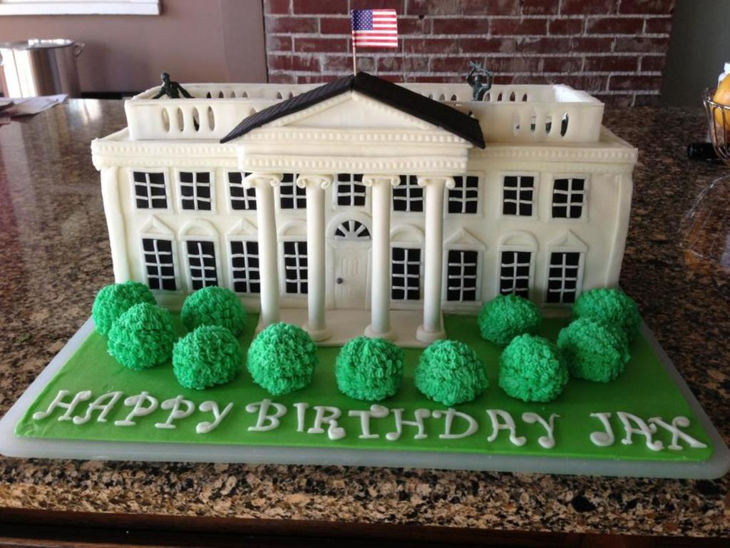 White House Cake Cakecentral Com