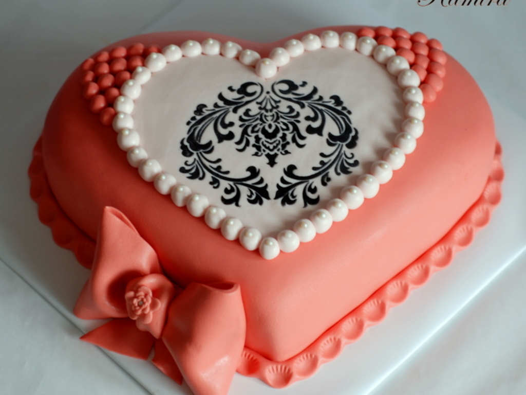 Heart shaped birthday cake cakecentral izmirmasajfo