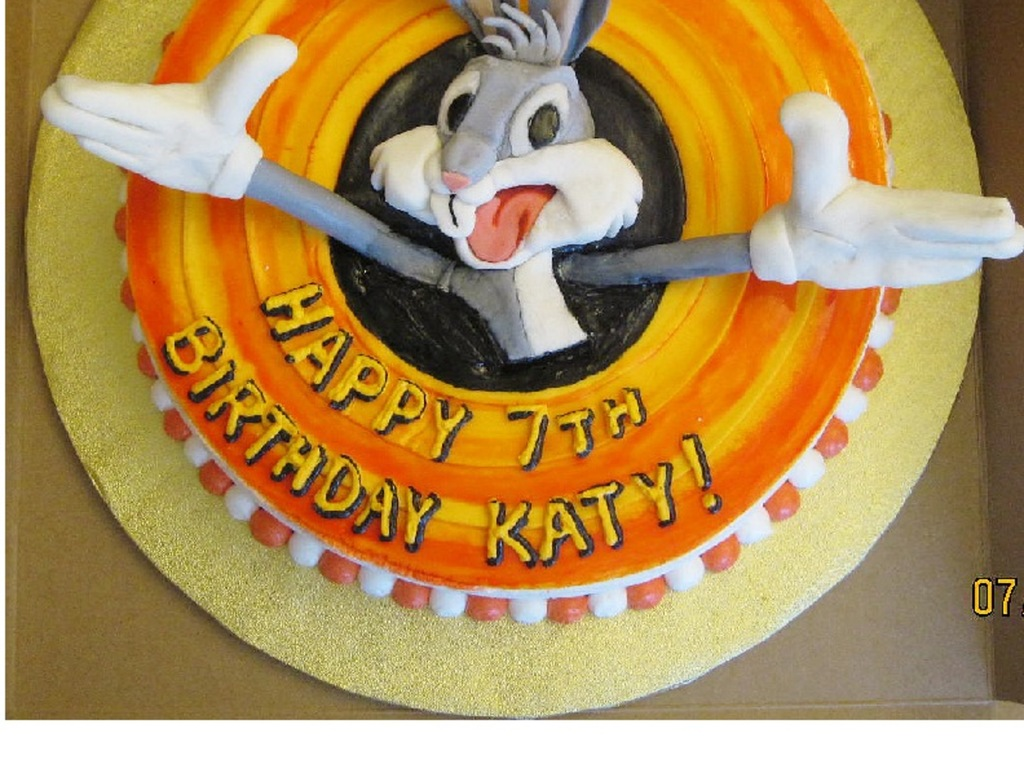 Bugs Bunny Birthday Cake Cakecentral