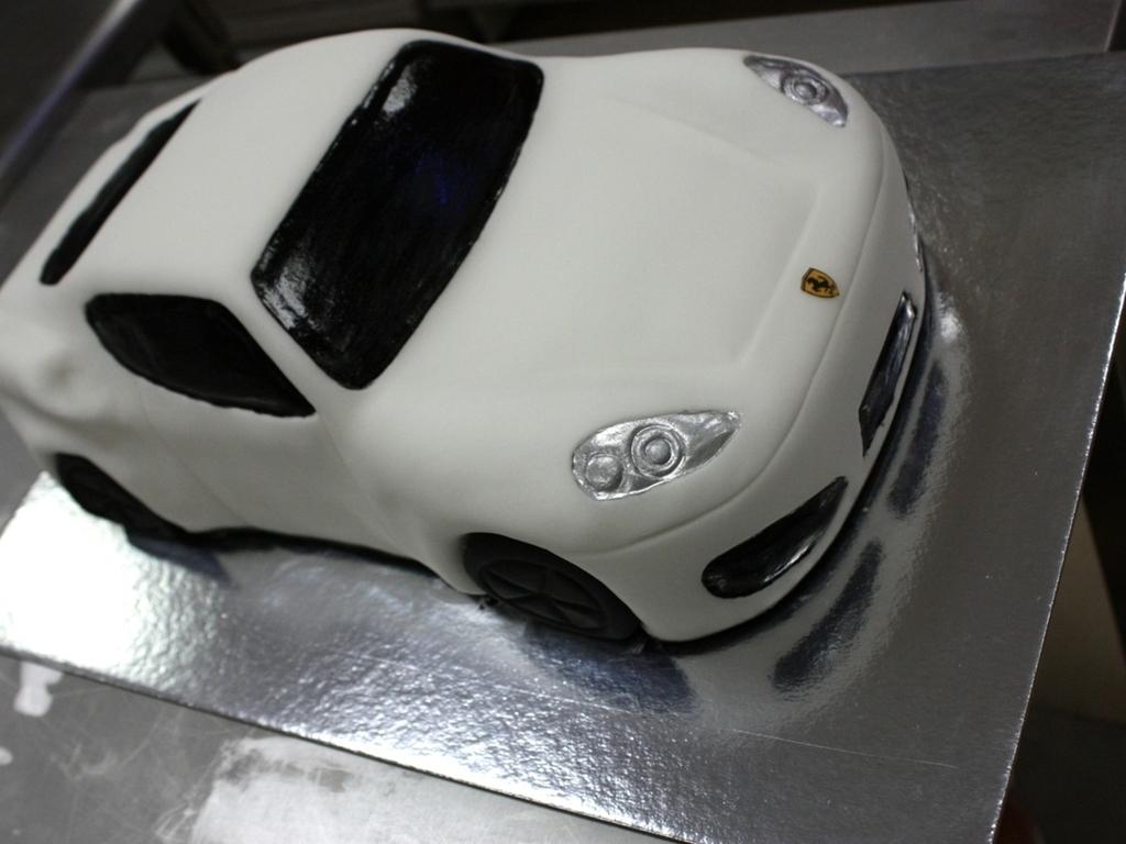 Ferrari Car Cake Cakecentral Com