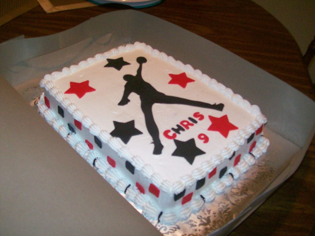 Michael Jordan Birthday Cake CakeCentralcom