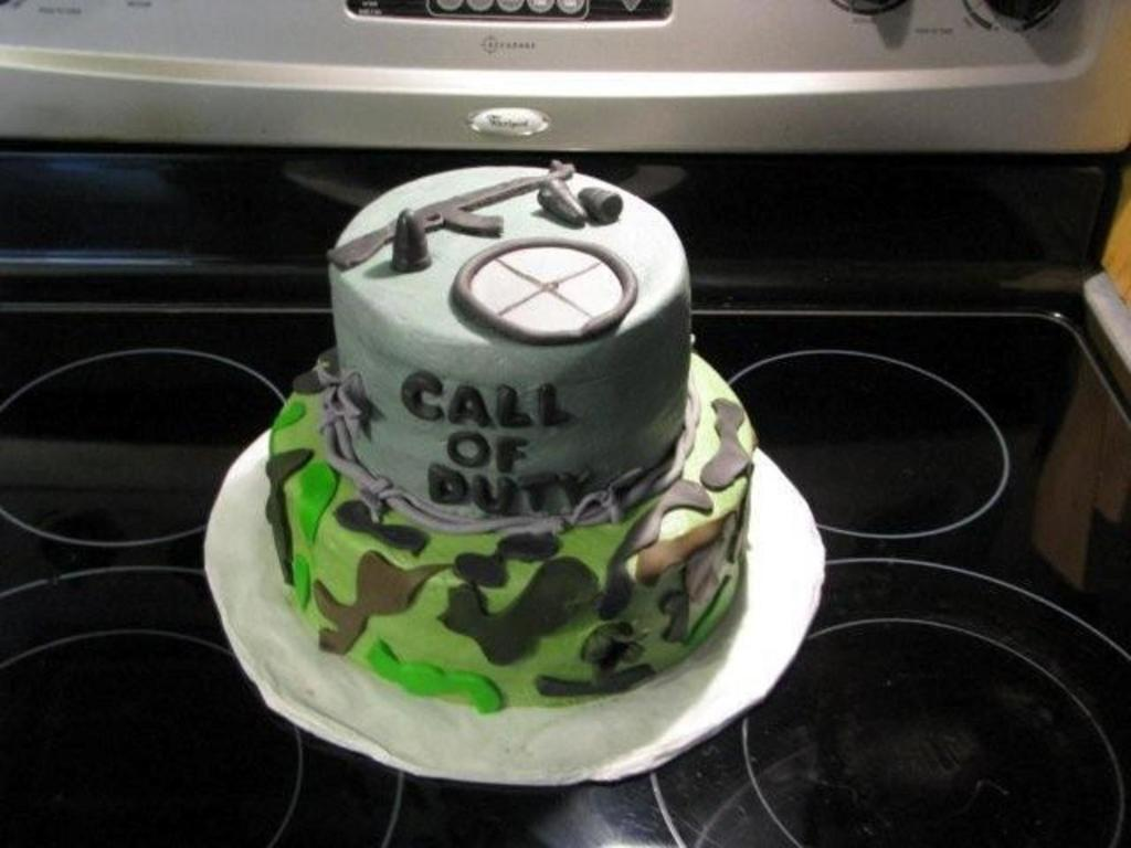 Call Of Duty Birthday Cake Cakecentral
