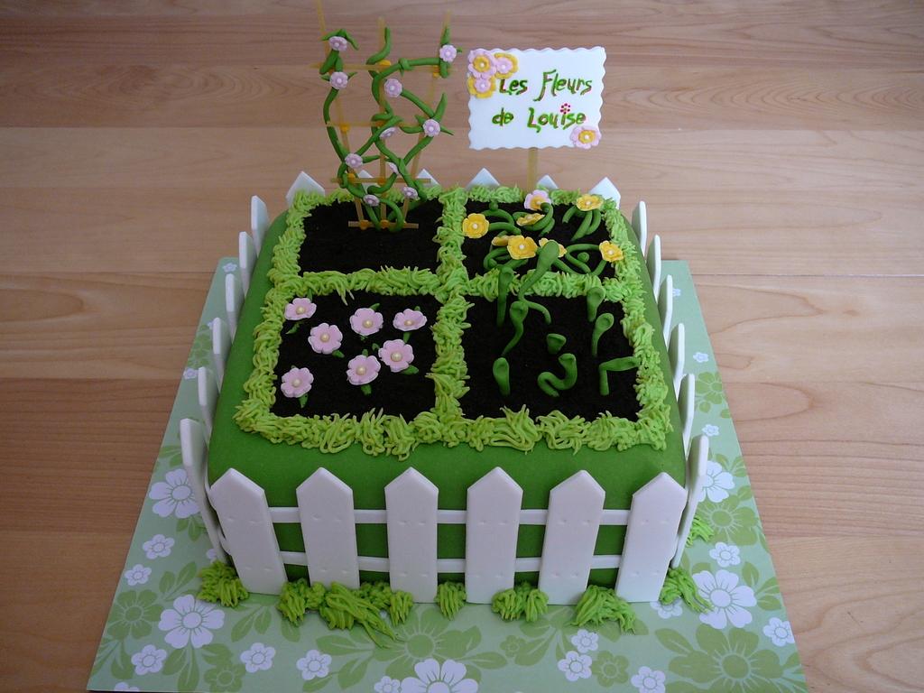 Flower garden cakecentral izmirmasajfo