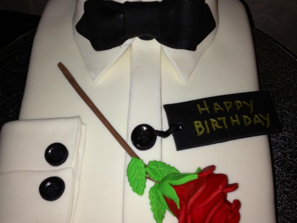 Tuxedo Shirt Birthday Cake Cakecentral