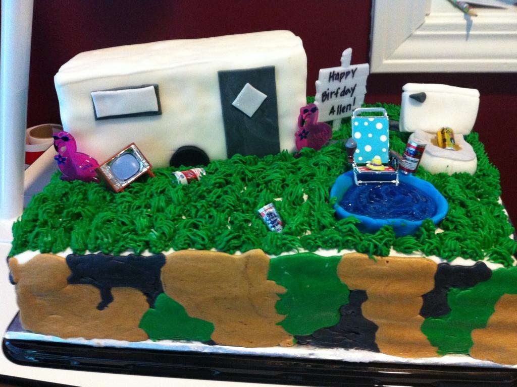 Swell Redneck Cakecentral Com Funny Birthday Cards Online Alyptdamsfinfo