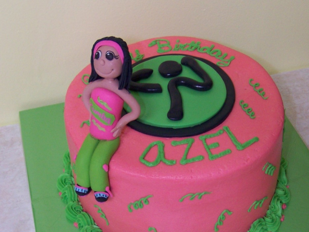 Zumba Cakecentral