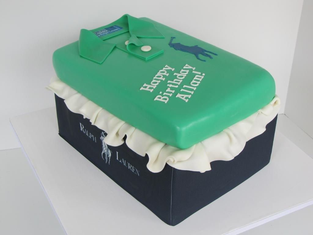 Shirt design cake - Shirt Design Cake 50