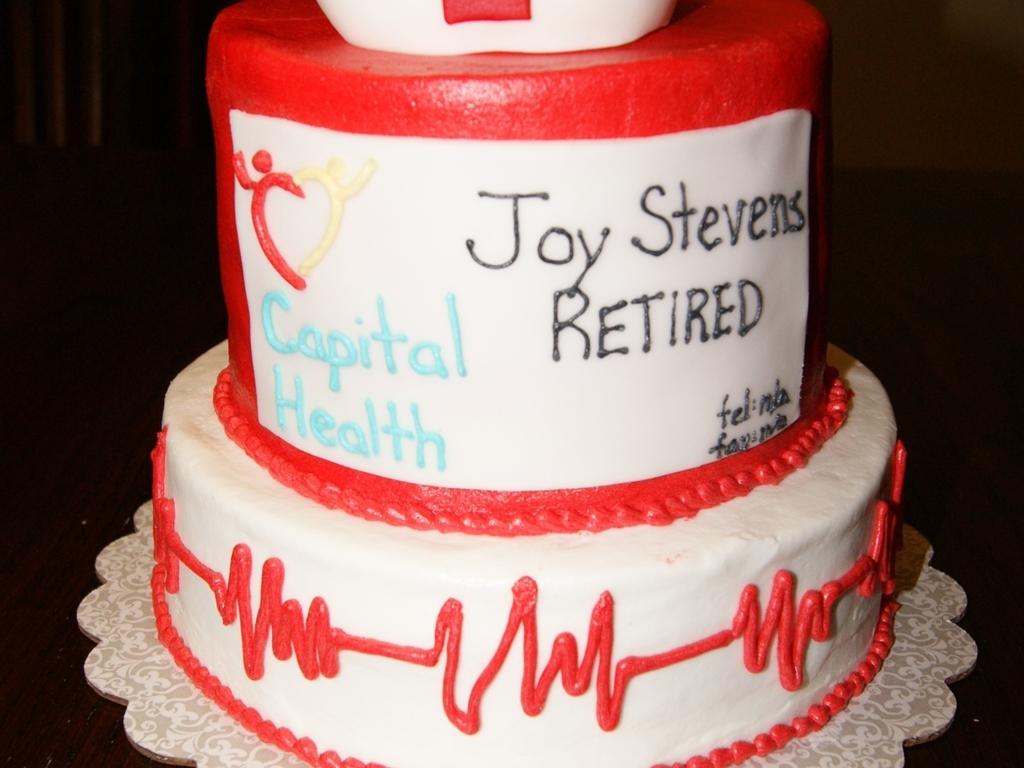 Nurse Hr Professional Retirement Cake Cakecentral