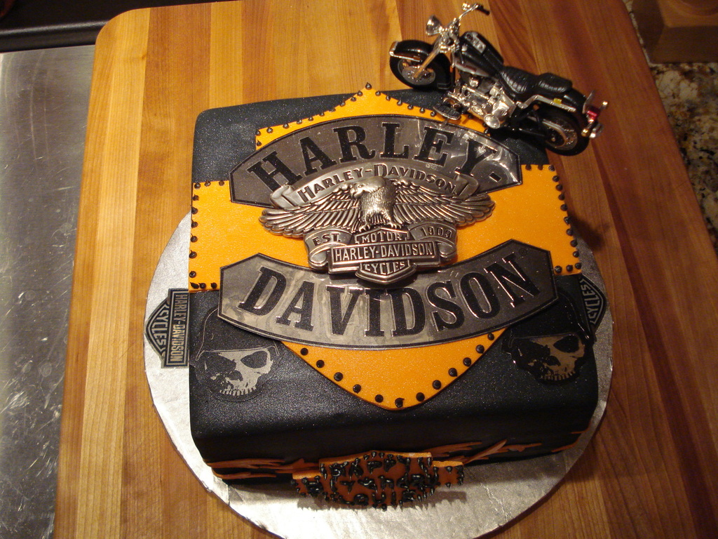 Harley Davidson Birthday Cake Cakecentral
