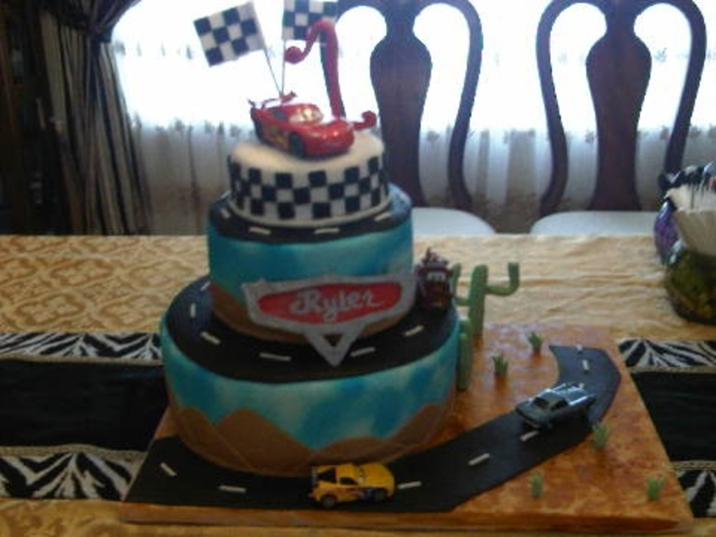 Cars 2st Birthday Cakecentral