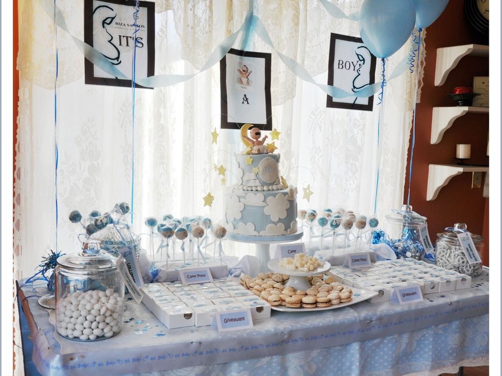 Baby Shower Dessert Table Cakecentral Com