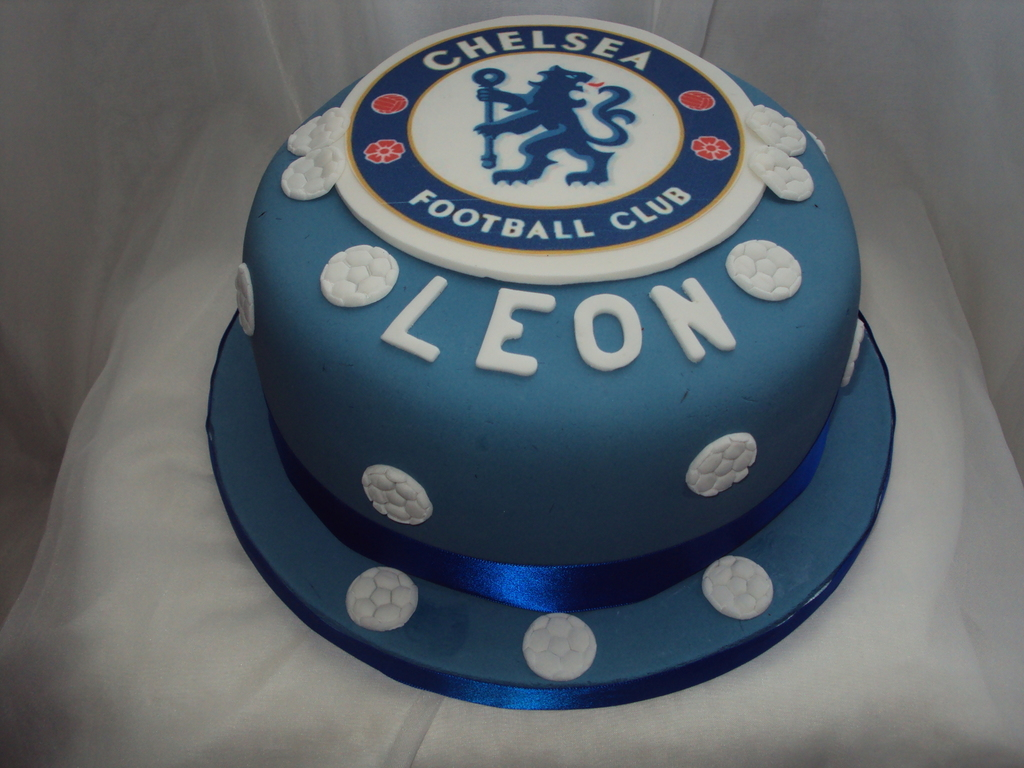 Terrific Chelsea Fc Birthday Cake Cakecentral Com Personalised Birthday Cards Veneteletsinfo