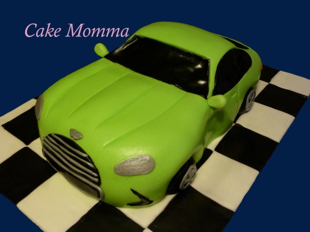 Aston Martin Cake For The Groom Cakecentral