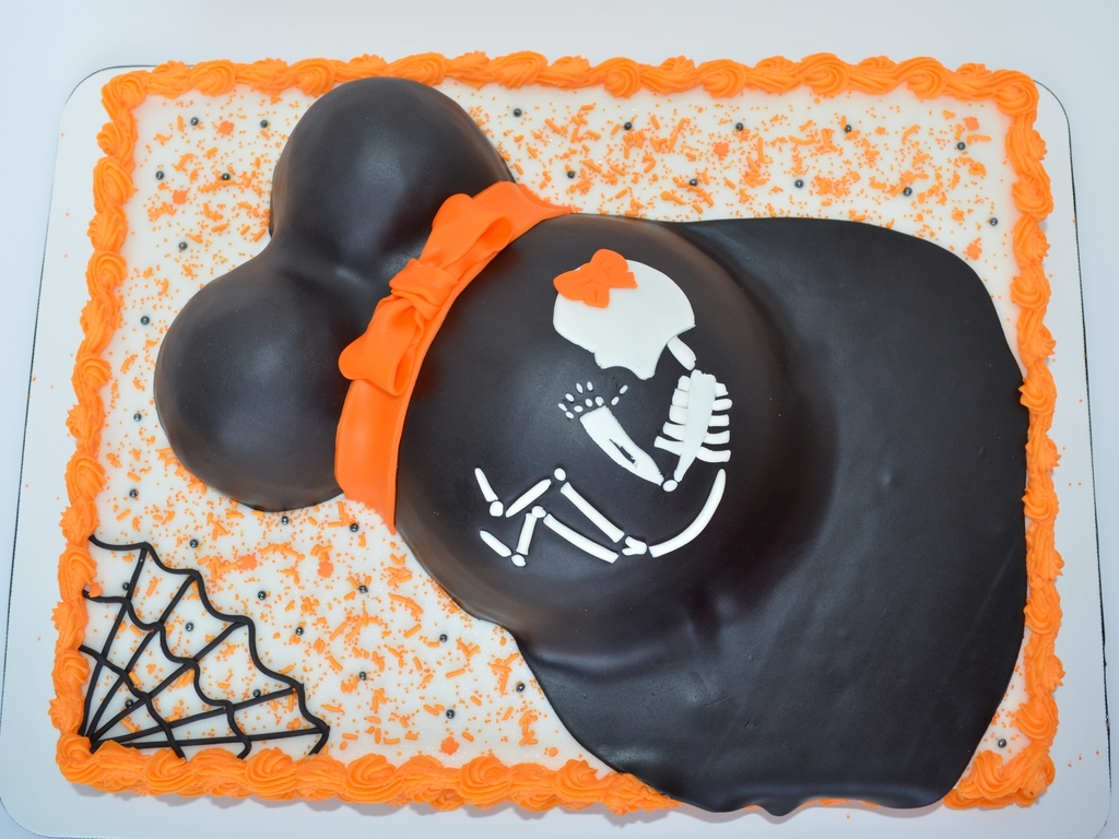 halloween themed baby shower - cakecentral