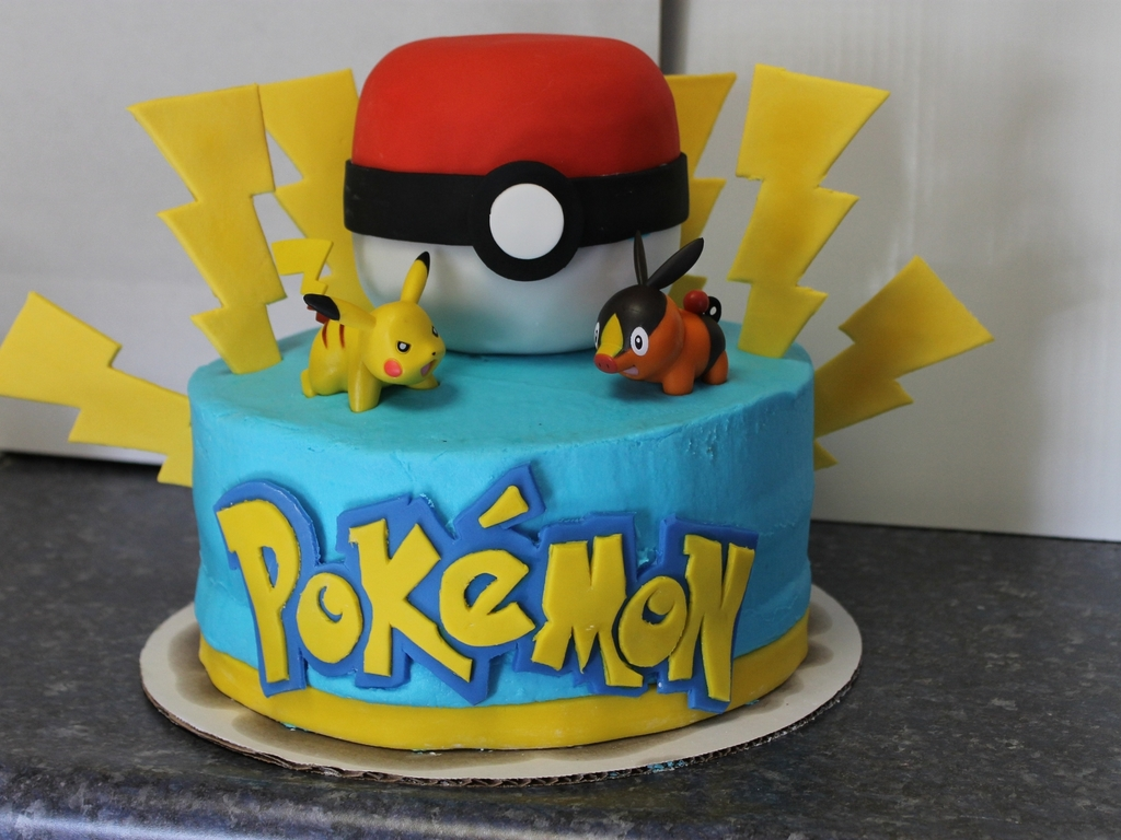 Pokemon Birthday Cake Cakecentral