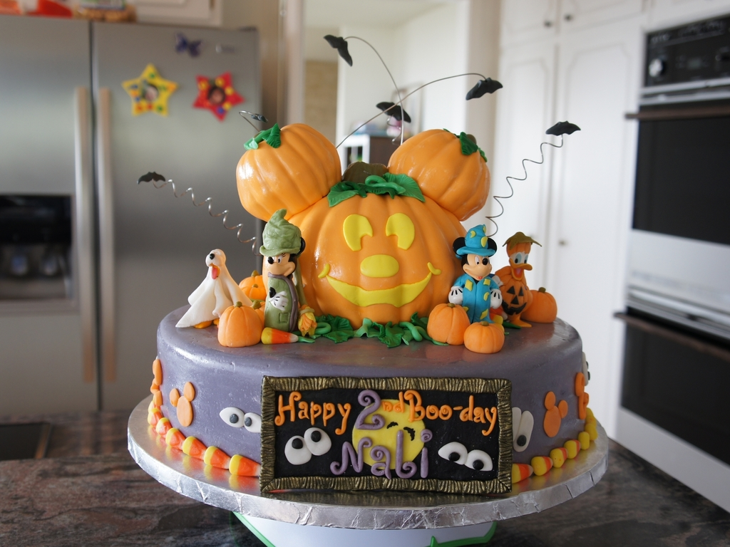 Mickey Mouse Halloween Birthday Cake Cakecentral