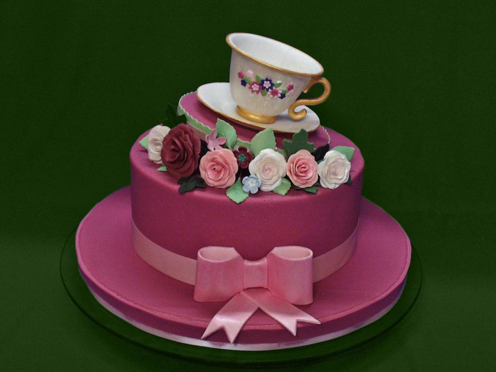 Wondrous 100 90Th Birthday Cake With Sugar Kiddles U0027N Bits 100Th Funny Birthday Cards Online Elaedamsfinfo