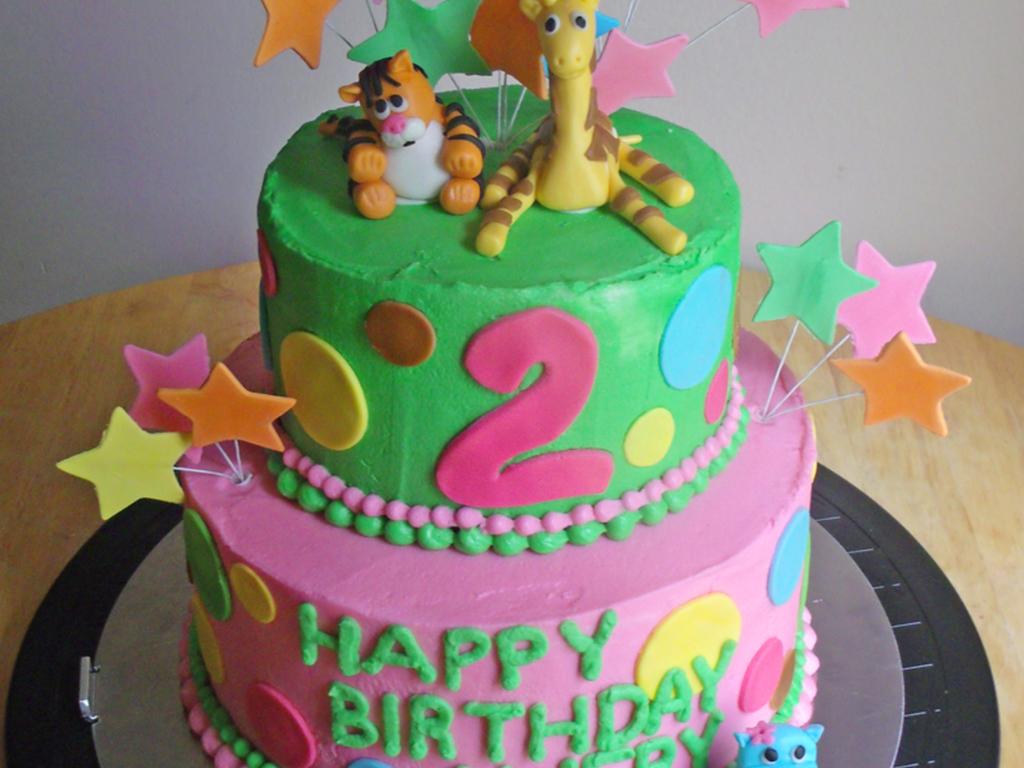 Phenomenal Baby Zoo Animals Birthday Cake Cakecentral Com Funny Birthday Cards Online Amentibdeldamsfinfo