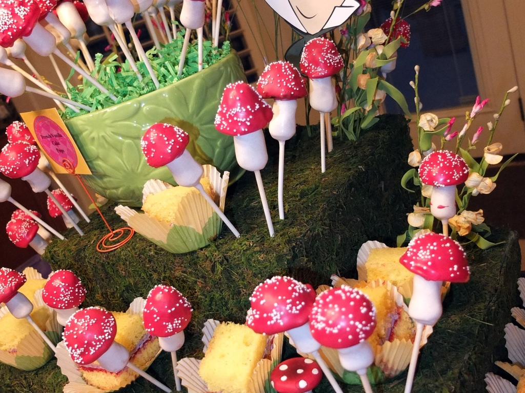 Mad Hatter Tea Party Cake Pops Cakecentralcom