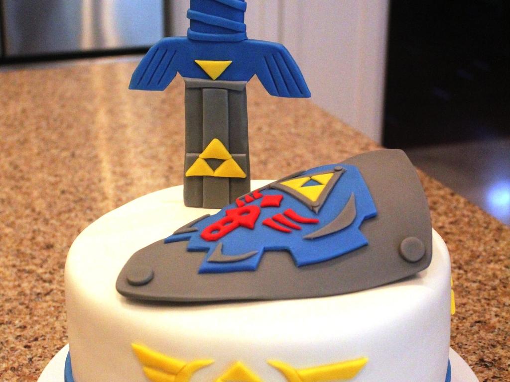 Legend Of Zelda Birthday Cake