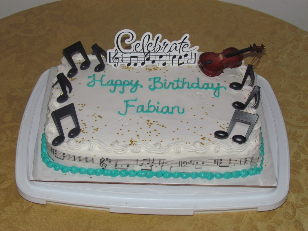 Happy Birthday Fabian Cakecentral