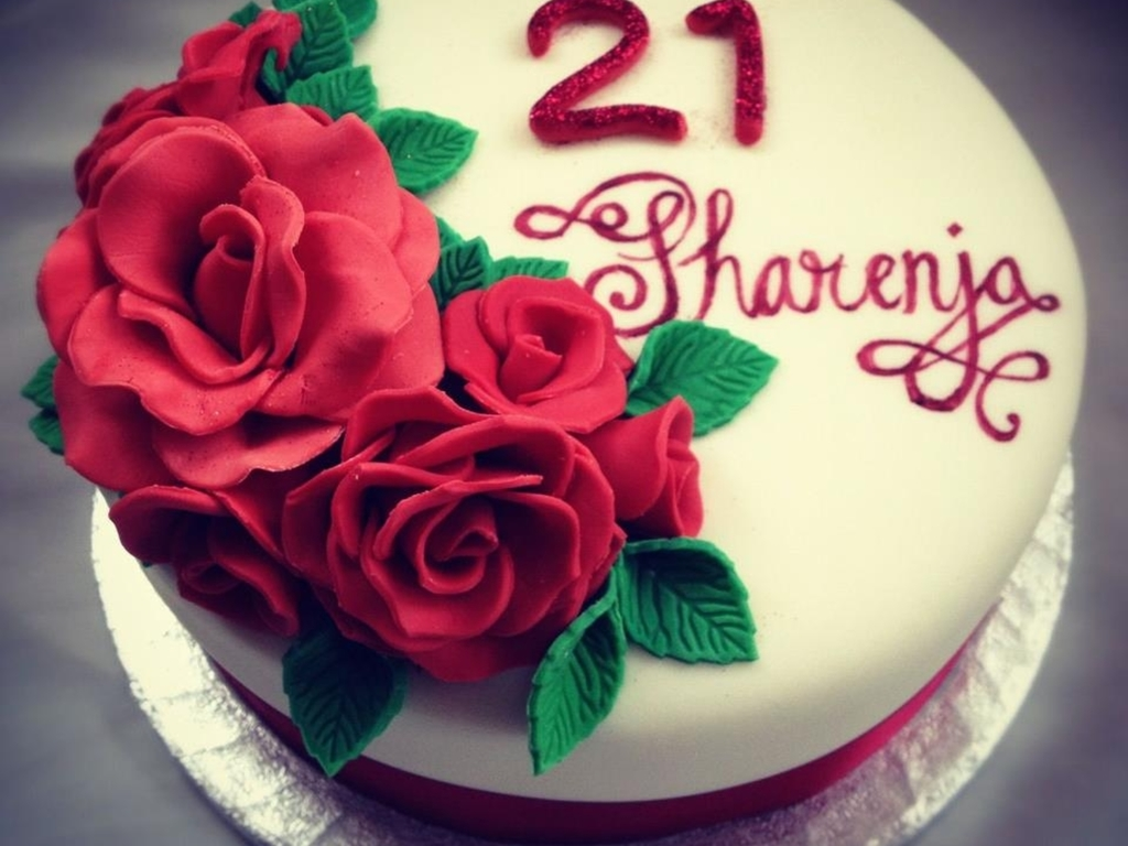 Miraculous Red Rose Red Velvet Birthday Cake Cakecentral Com Funny Birthday Cards Online Fluifree Goldxyz