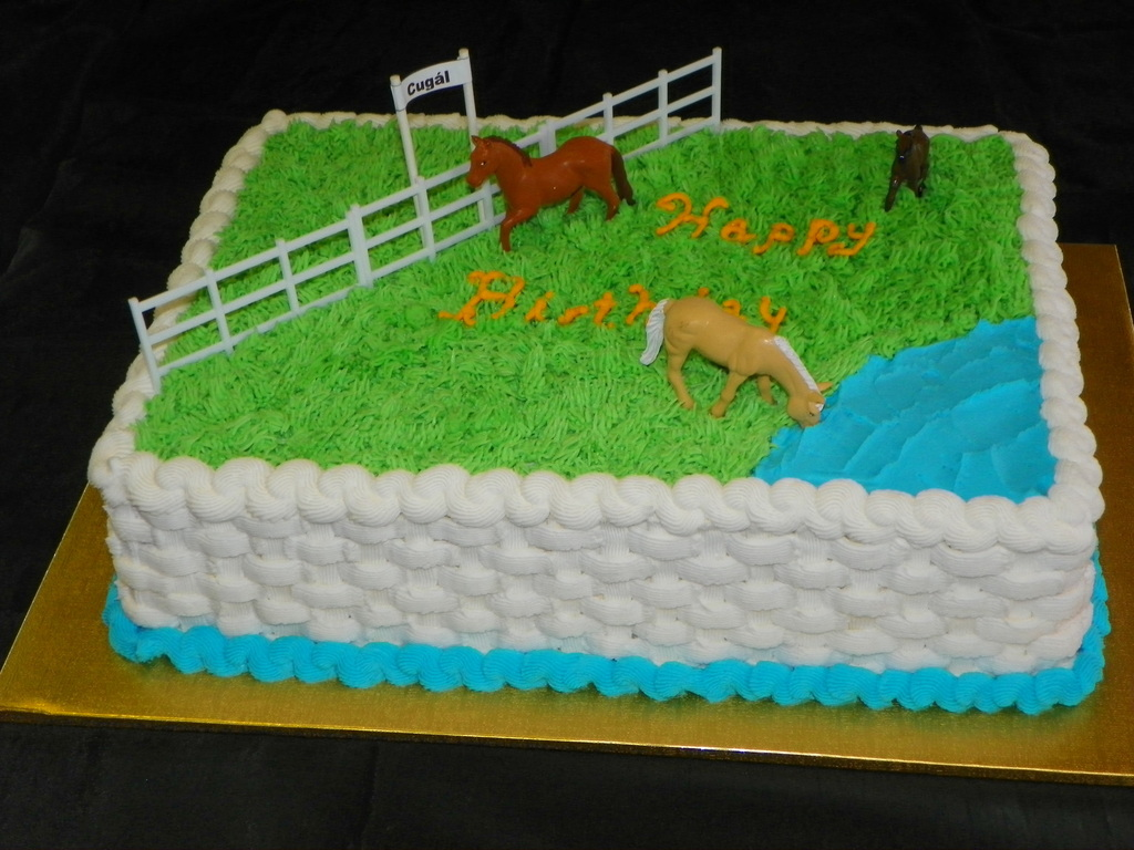 A Birthday Cake For An Older Romanian Gentleman Who Still Recalls