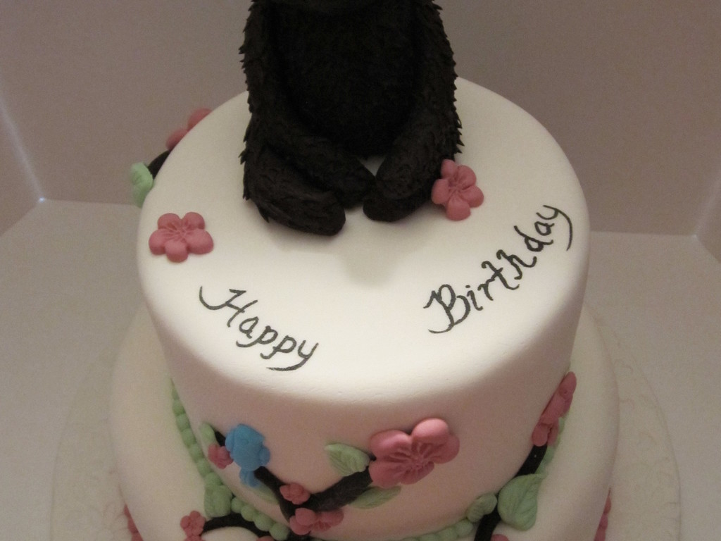 Ms Grizz Birthday Cake Cakecentral