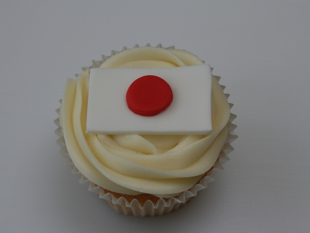 japanese flag cupcakes cakecentral com