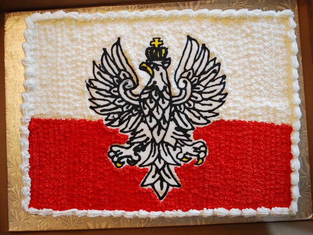 polish flag cake cakecentral com