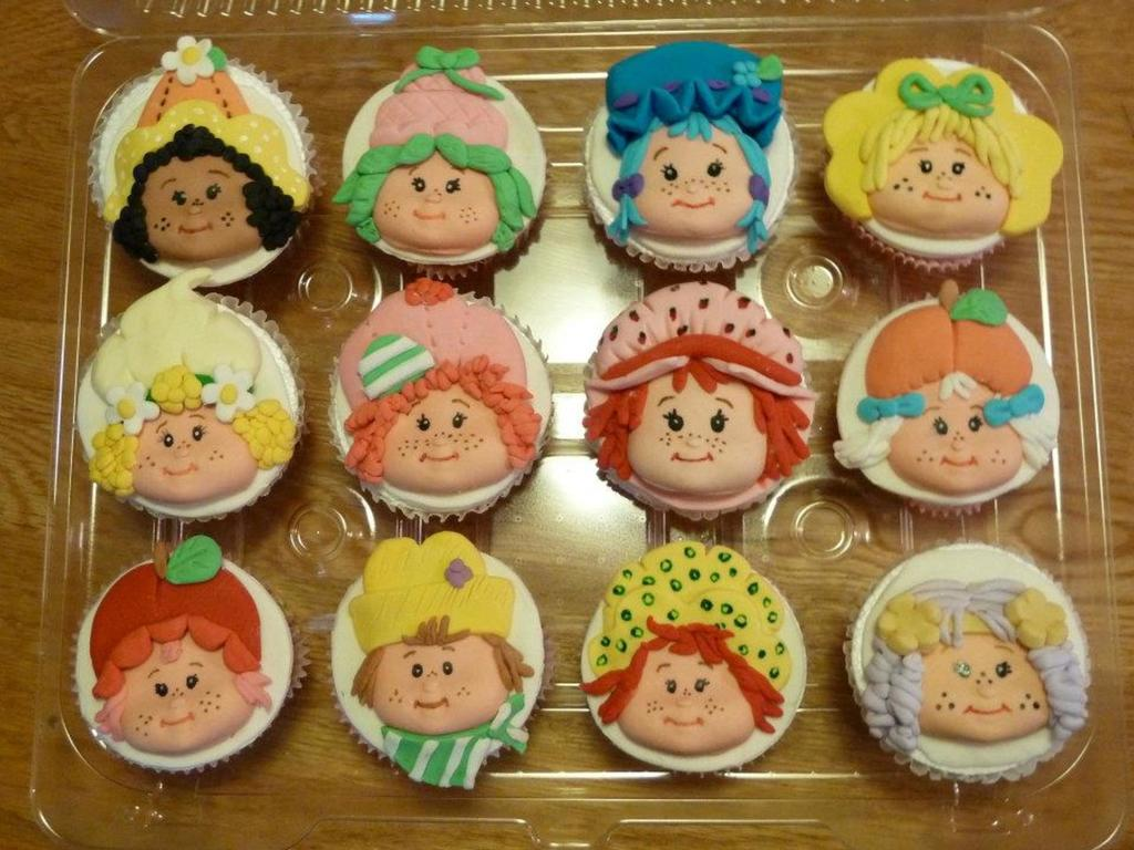 Vintage Strawberry Shortcake Characters  CakeCentralcom