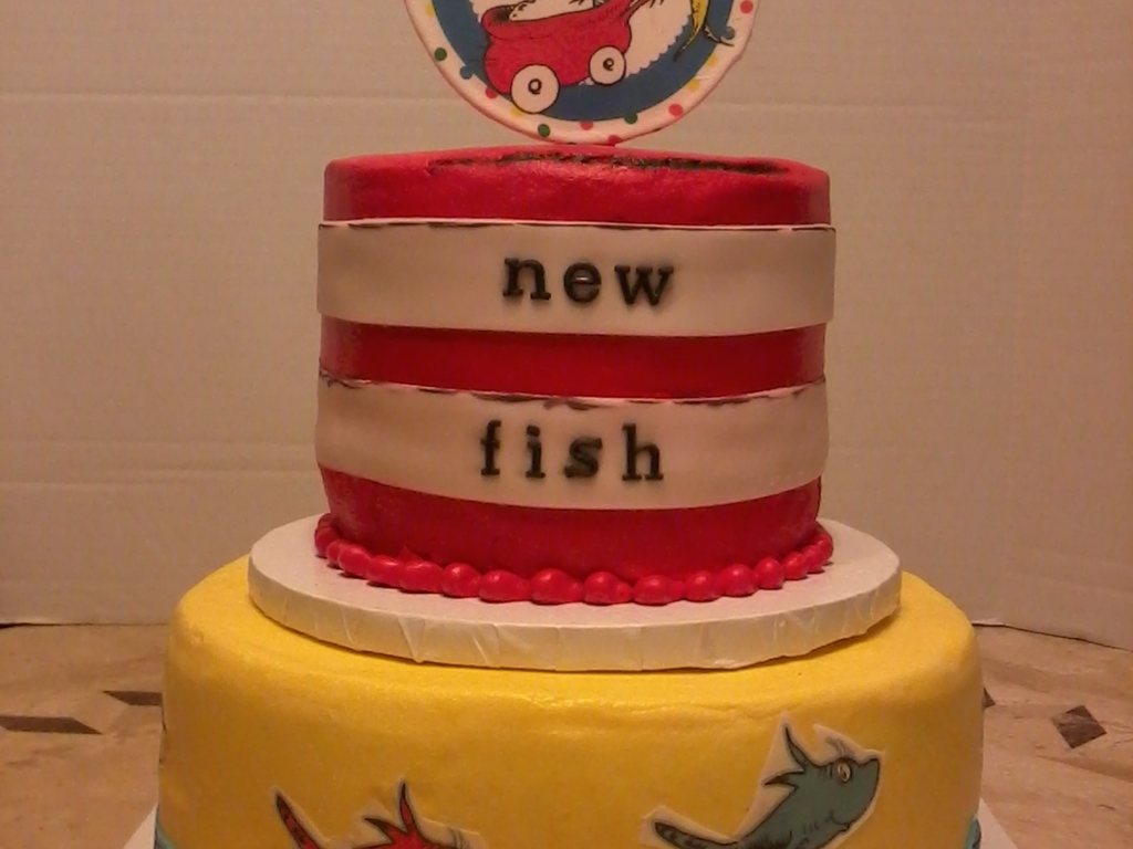 Baby Shower Cakes Dc ~ Dr seuss baby shower cake cakecentral