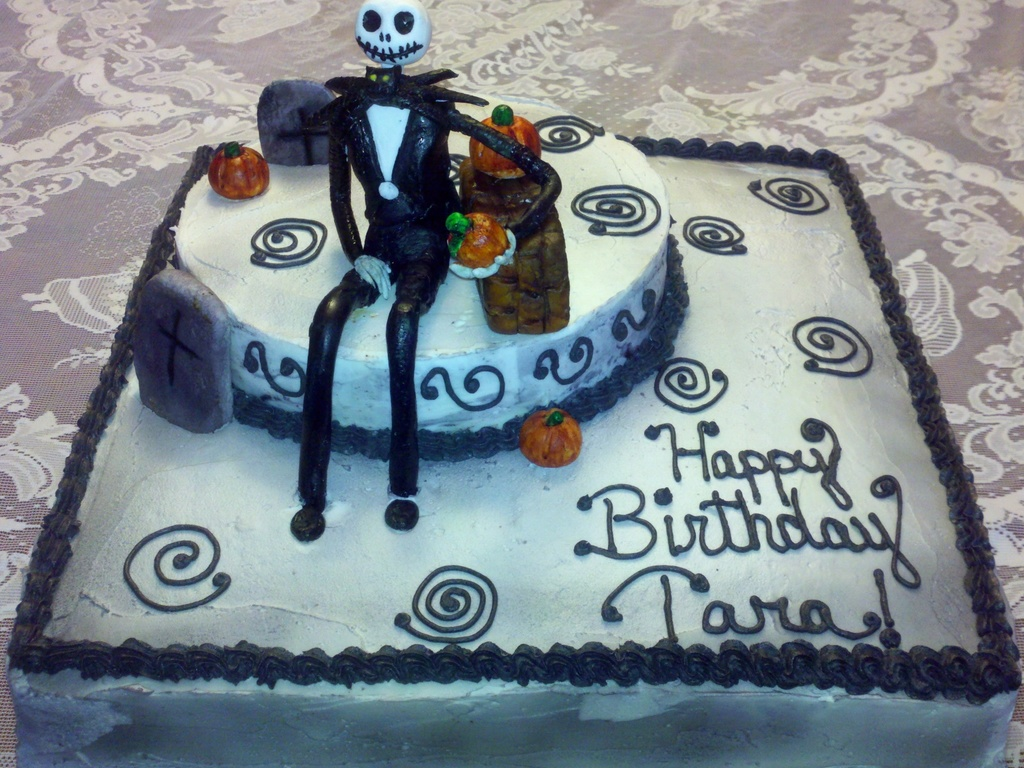 Jack Skellington Birthday Cake Cakecentral