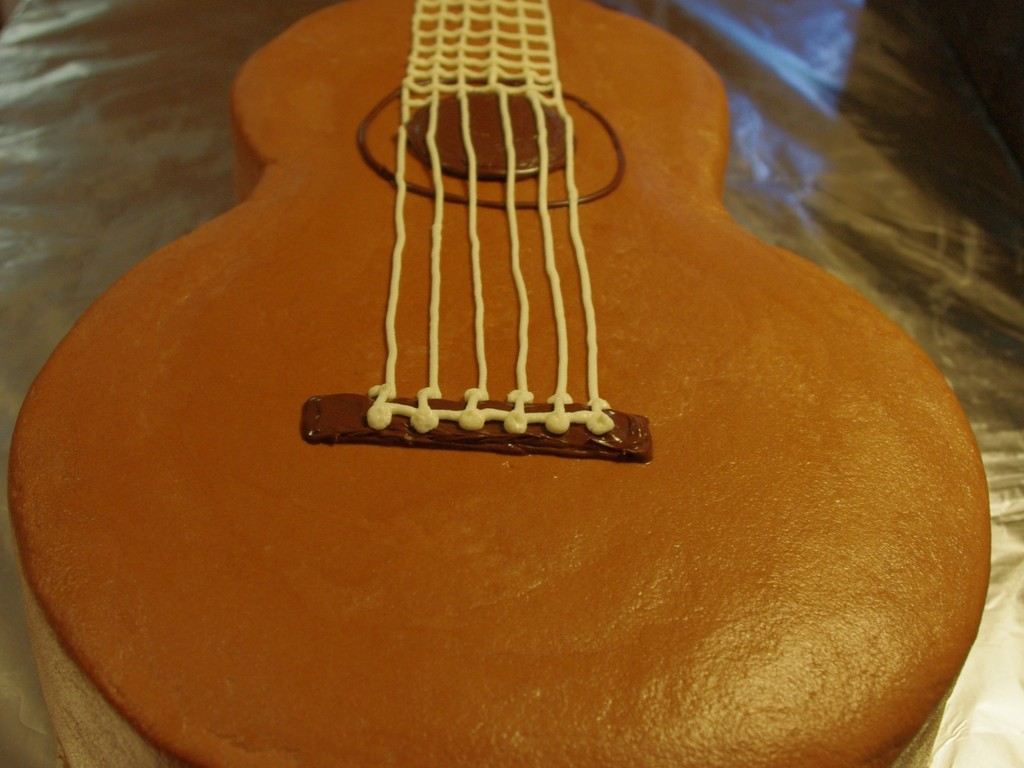Classical Guitar Cake Cakecentral