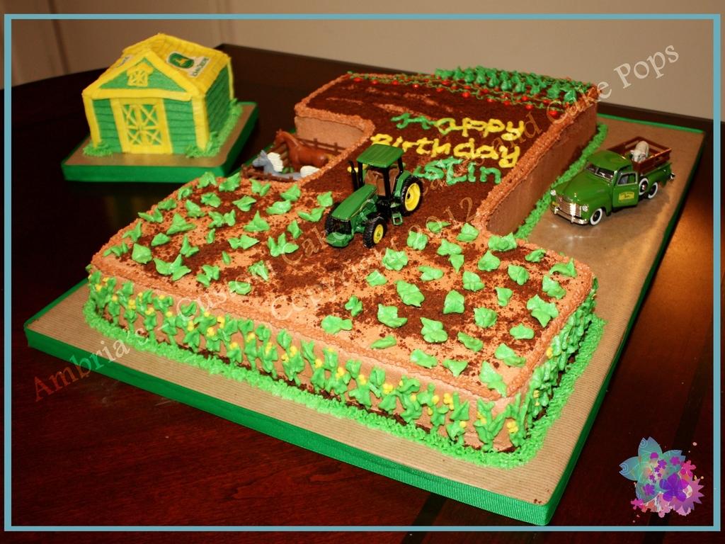 John Deere 1St Birthday CakeCentralcom