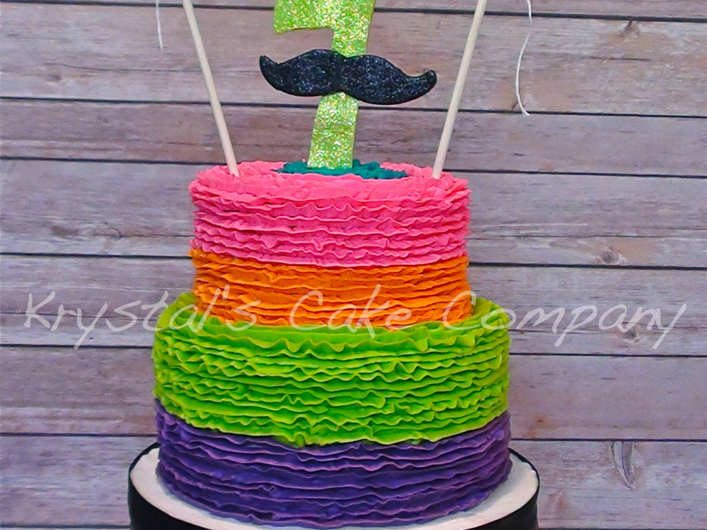 Remarkable Neon Mustache Party Cakecentral Com Birthday Cards Printable Giouspongecafe Filternl