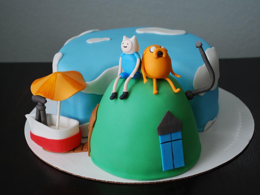 Adventure Time Cake Cakecentral Com