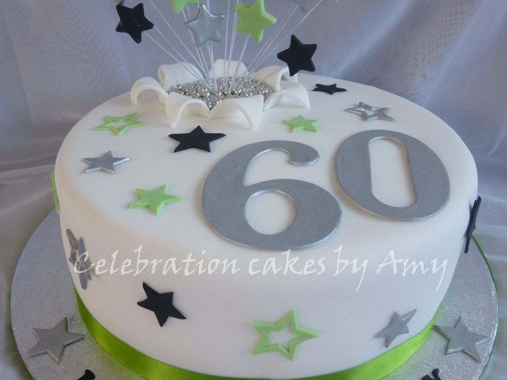 Males 60Th Birthday Cake